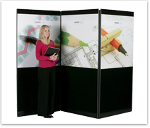 Ace Audio Visual equipment hire exhibition display panels